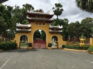 『Lang Ta Quan Le Van Duyet ル・ヴァン・デュエットの墓』の門