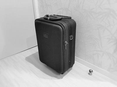 機内持ち込み用サイズのスーツケース