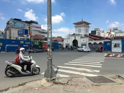ベンタン市場前 ベトナム ホーチミン