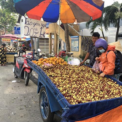 ベトナムのナツメ