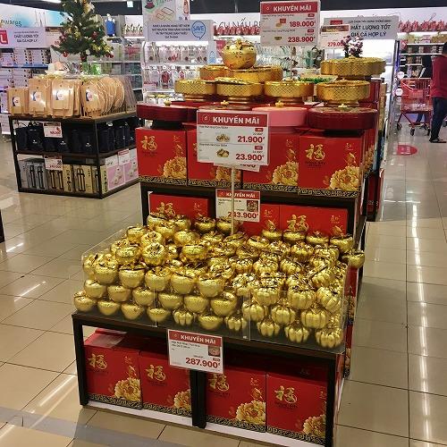 ホーチミンのスーパーマーケット