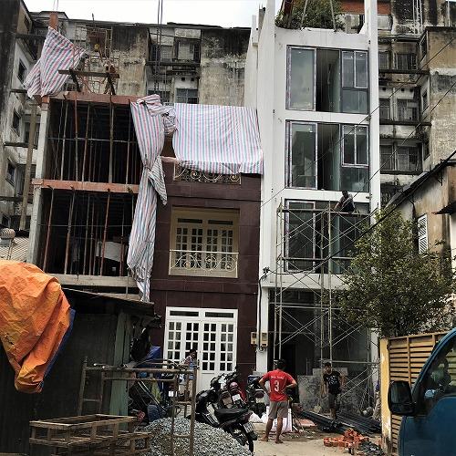 サイゴンの家の改装