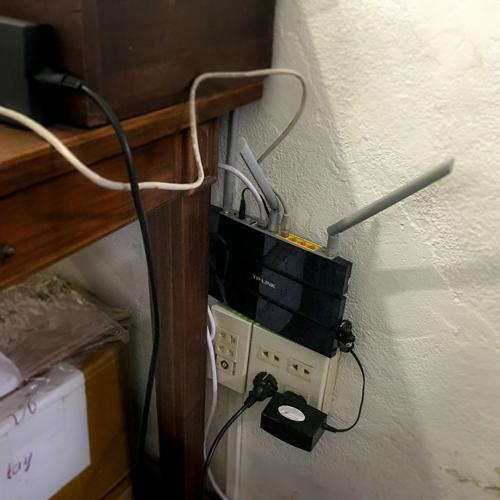 サイゴンでネット工事