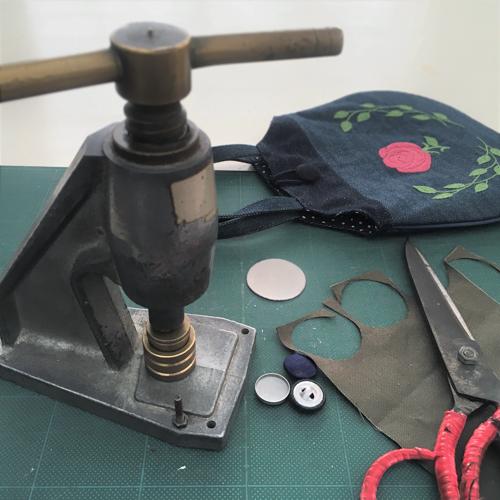 クルミボタンの作り方