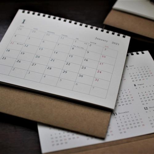 日越カレンダー2021