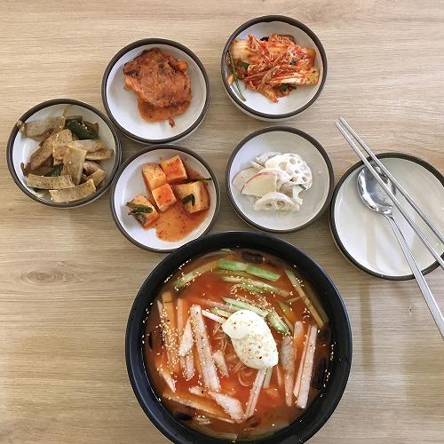"""ホーチミンの韓国料理・冷麵"""""""""""