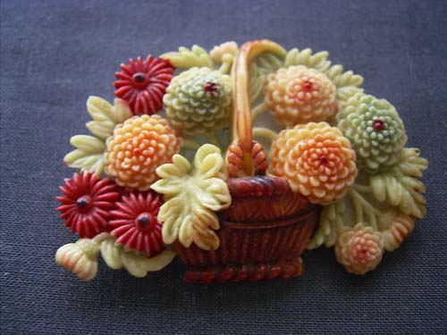 花かごブローチ(表)