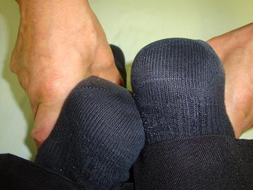足の長さC