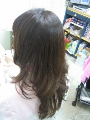 アイロン 巻き髪 美容室