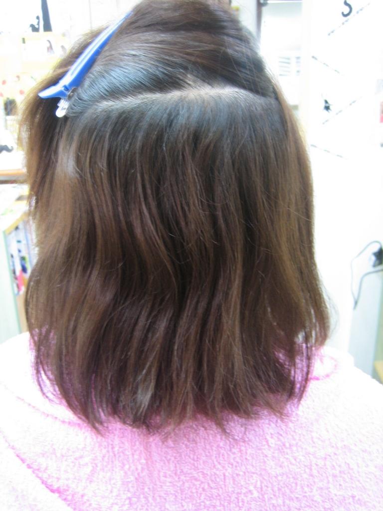 髪のボリュームが減ってきた 髪が減った