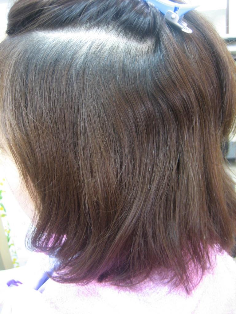 髪のボリュームを出したい ヘアスタイル