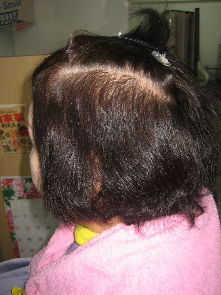 60代 50代 縮毛矯正 髪質改善