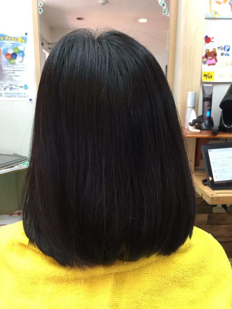 髪の量が少ない人専用縮毛矯正