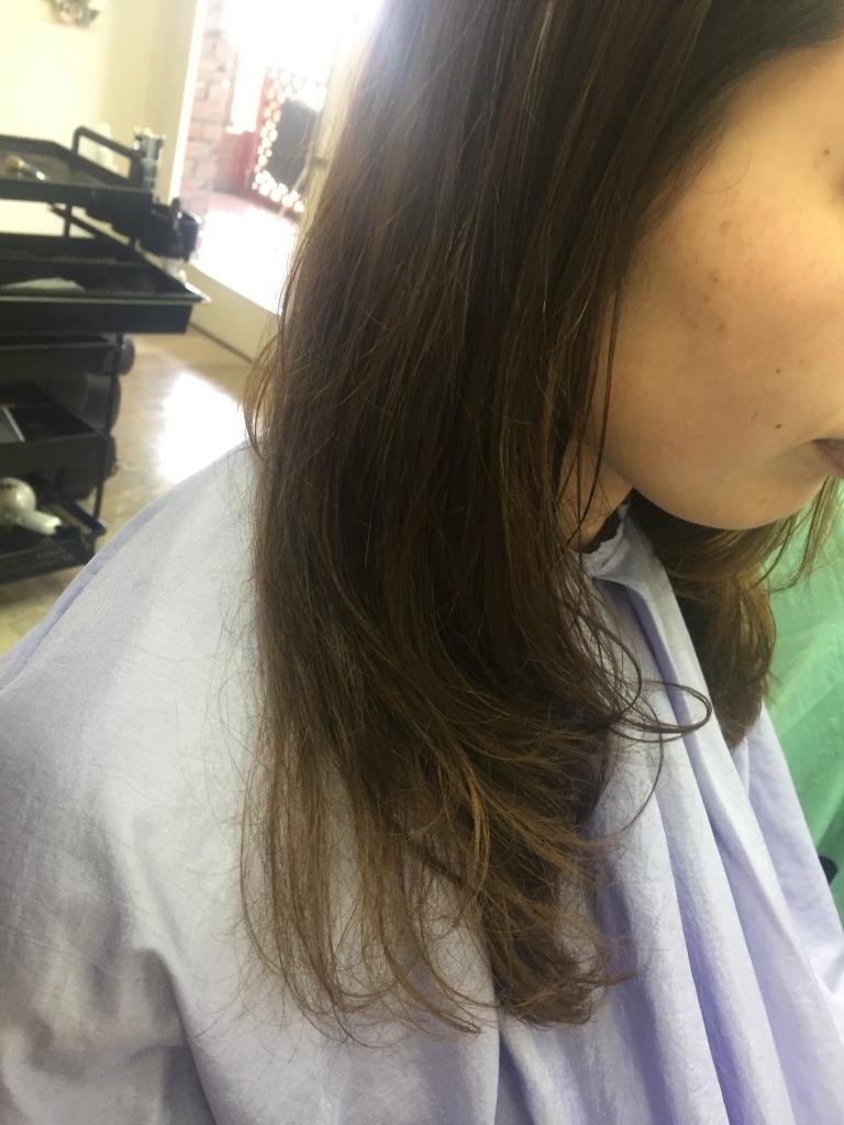 デジタルパーマ エアウエーブ 学園前 美容室 生駒市 髪質改善 生駒郡
