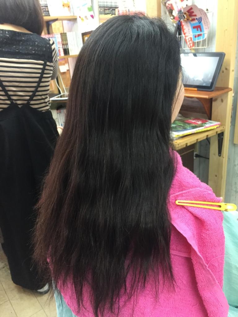 広がる髪をおさめる 広がらない髪を作る 髪質改善専門店 奈良市 学園前 登美ヶ丘