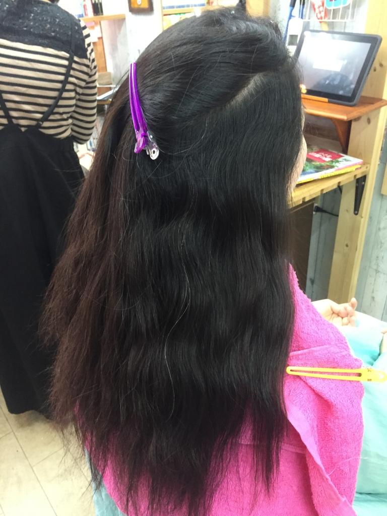 髪の質感をきれいにしたい 奈良市 デジタルパーマ 毛先カール専門店 学園前 ワンカールパーマ あやめ池
