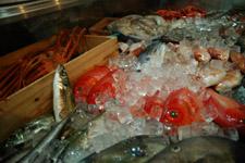 新鮮な魚介類!!