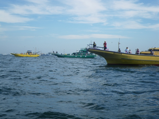タチウオ船団