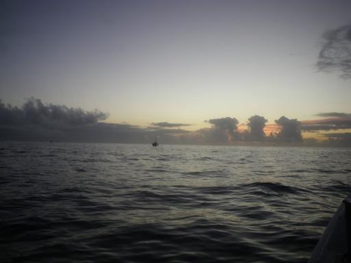 岩船沖なざ寄りの朝