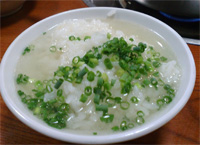 〆の雑炊…というかスープかけご飯