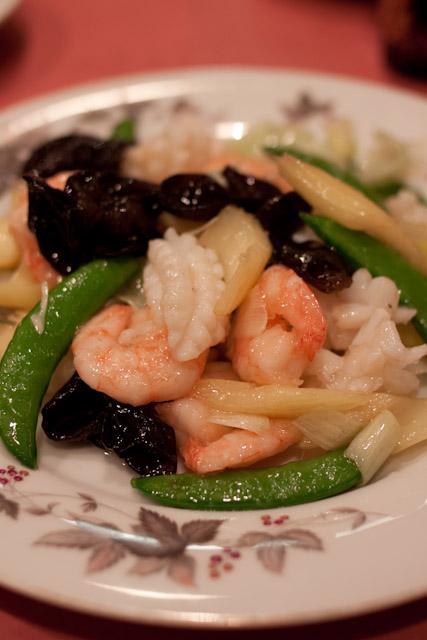 松花江-海鮮の塩味炒め