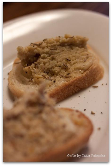 ひよこ豆とパン