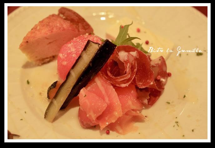 グロゼイユ-前菜