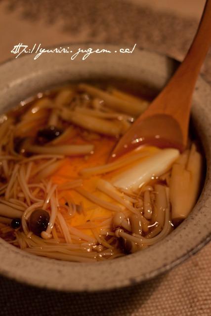 20110111豆腐の茸あん-2.jpg