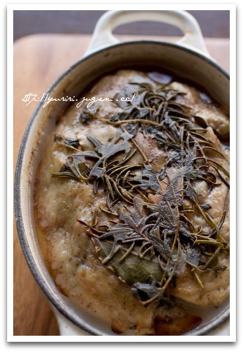 20110522鶏肉と鶏レバーのテリーヌ イチジク入り.jpg