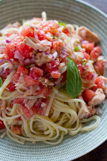 20110818 トマトとツナの冷たいパスタ.jpg