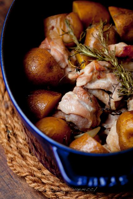20120507 塩麹鶏とじゃが芋のオーブン焼 ☆ ストウブで-2.jpg