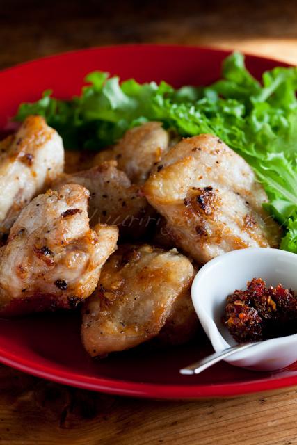 20130226塩レモン鶏の唐揚げ ハリッサ添え-3.jpg