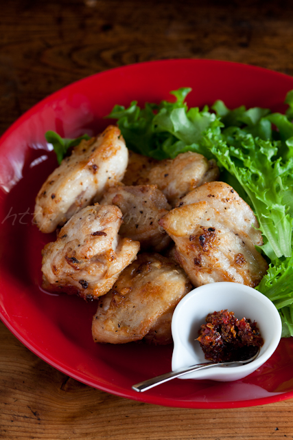 20130226塩レモン鶏の唐揚げ ハリッサ添え-2.jpg