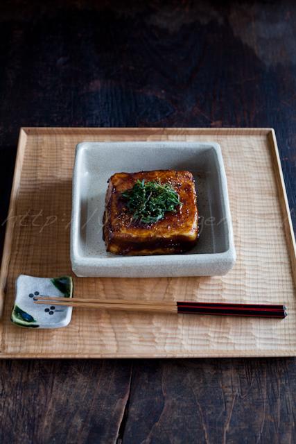 豆腐の照り焼き | ゆりり亭 *〜料理もお酒も無手勝流〜*