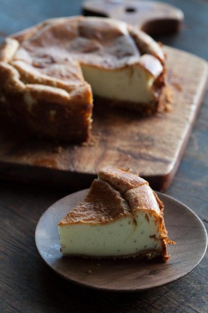 20131011ゴルゴンゾーラの甘くないチーズケーキ.jpg