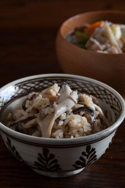 20131016豚汁と茸ご飯-6.jpg