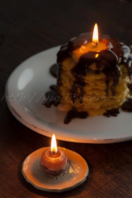 20140306マカロンとパンケーキのキャンドル.jpg