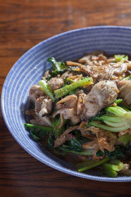 20140331牡蠣とターサイの炒め-3.jpg