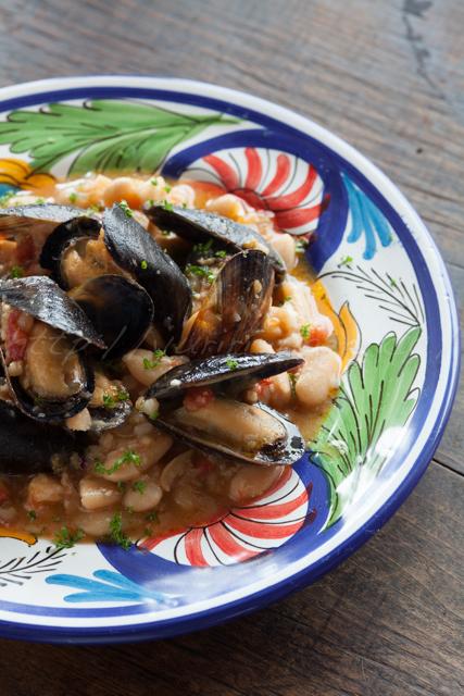 20140810白インゲン豆とムール貝の煮込み-2.jpg