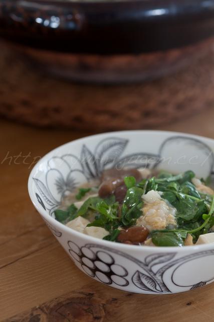 20141214なめこ豆腐クレソンの雑炊-2.jpg