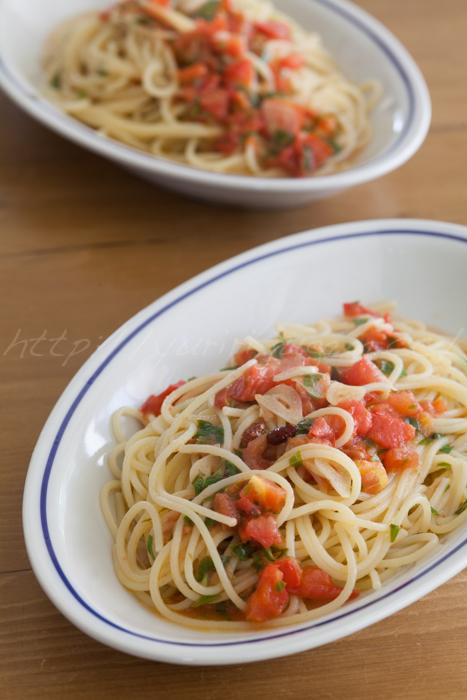 20150612トマトのペペロンチーノ.jpg
