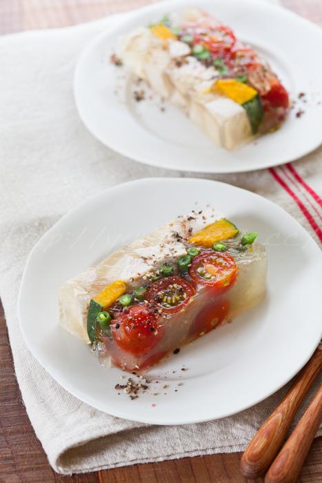 20150723鶏肉と夏野菜のゼリー寄せ.jpg