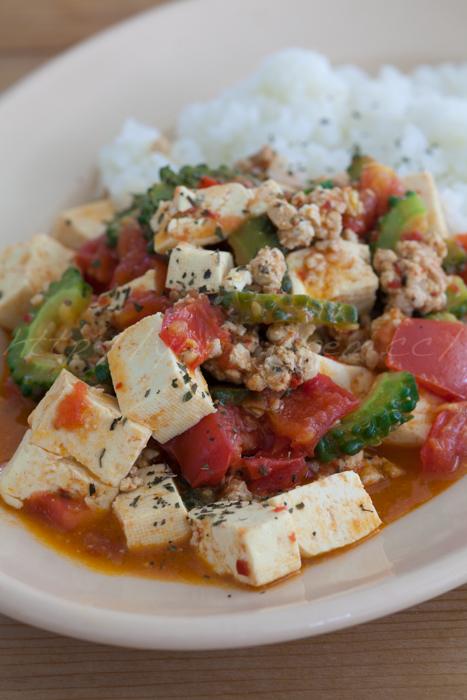 20150728ハリッサで豆腐の炒め.jpg