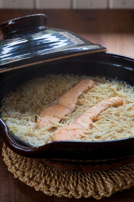 20150917鮭と生姜の炊き込みご飯.jpg