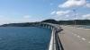 角島大橋の車寄せから