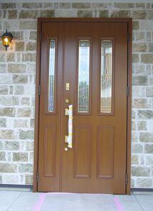 こだわりの玄関ドア