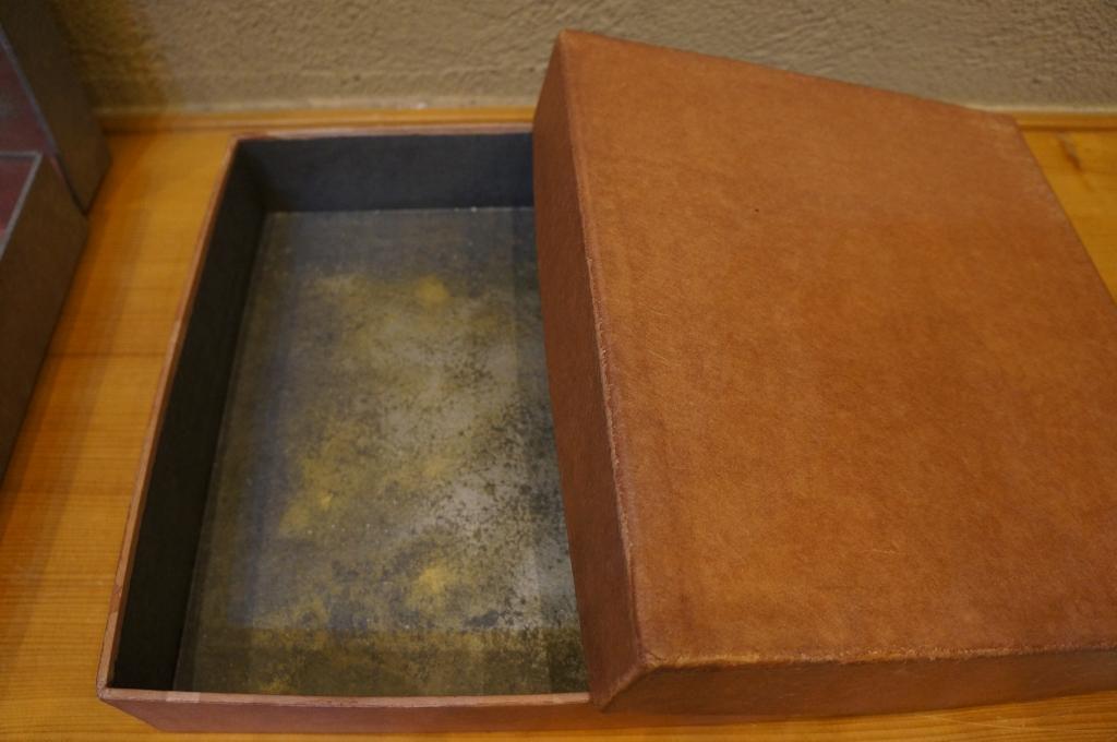 和紙製の箱