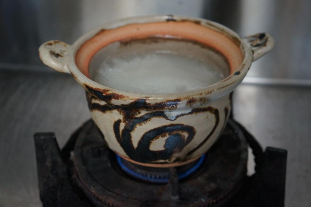 篠原 希作 鉄彩土鍋
