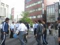 20120606種蒔き(ひまわり通り)