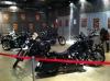 ロビー バイク展示